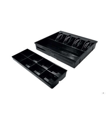 CAJON D1-410 (410 x 415 x 99) NEGRO Pisabilletes Metálico