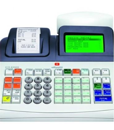 Caja registradora Olivetti ECR 8200s