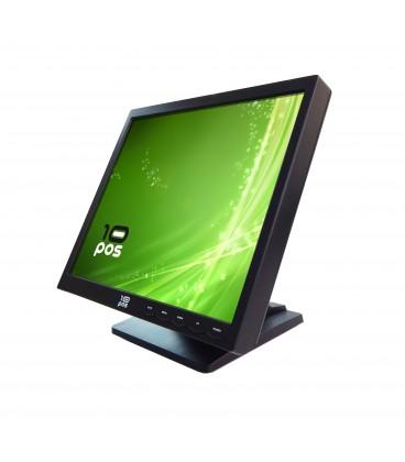 Pantalla Táctil 10POS TS-17FV LCD . VGA & USB. Color Negro