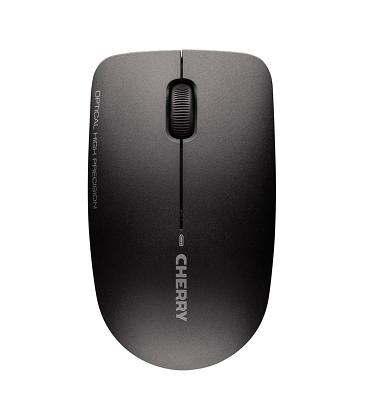 Teclado + raton cherry dw 3000, inalámbrico negro ultra silencioso
