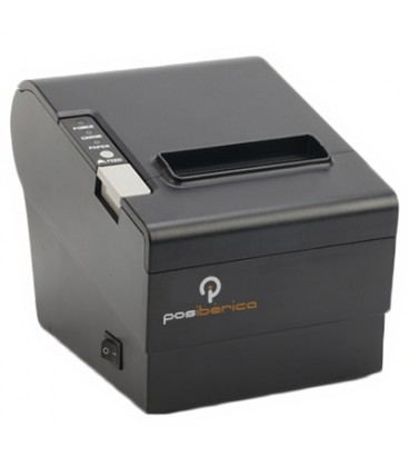 Impresora térmica Posibérica P80 PLUS-USL USB/RS232/LAN NEGRA