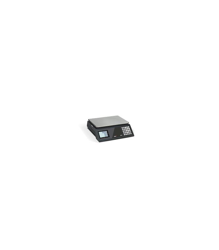 Balanza comercial sin impresora serie ZFOC RS y ZFOC-P RS está equipada con salida RS-232C con adaptador a USB para PC o TPV.