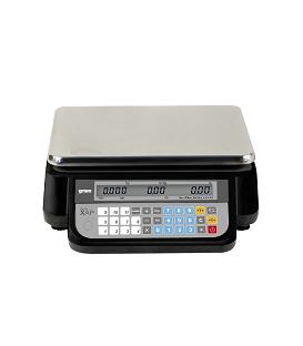 Balanza comercial Gram XAP 30P con columna y conexión a TPV